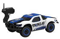 Машинка микро р/у 1:43 HB Toys Muscle полноприводная (синий), фото 1