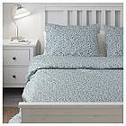 Комплект постельного белья IKEA VATTENMYNTA 200х200 см белый синий 503.902.47, фото 5