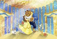 Фотообои фотошпалери Komar 8-4022 Disney Красавица и чудовище 368х254 бумажные