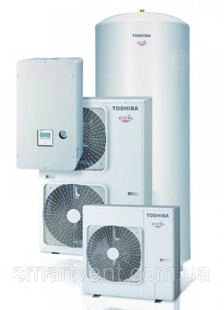 Тепловой насос Toshiba HWS-1604H8(R)-E / HWS-1404XWHT9-E