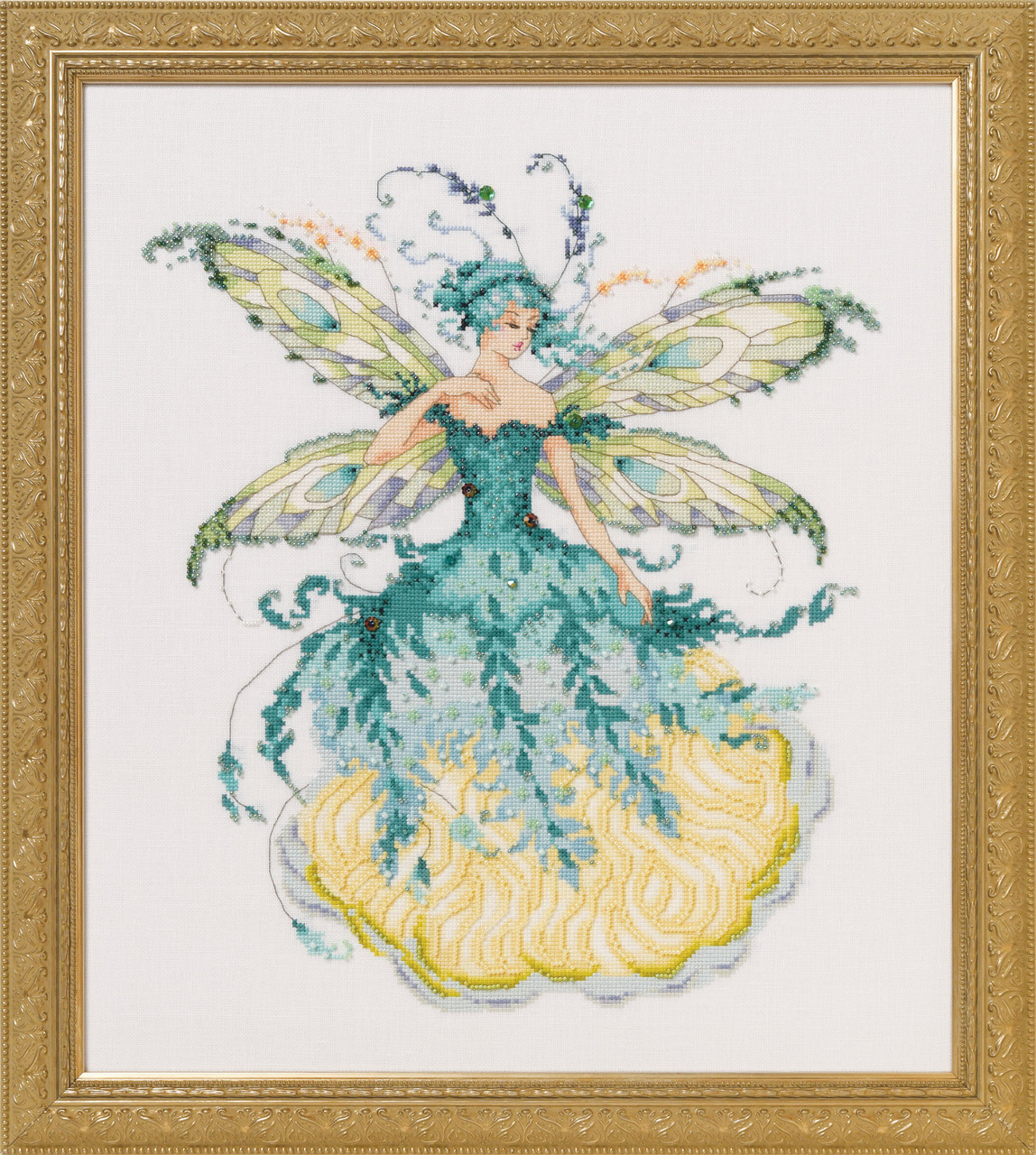 Схема Mirabilia Designs  March Aquamarine Fairy