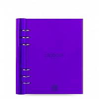 Органайзер Filofax Clipbook A5 Gummy, фиолетовый