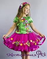 Весна, детский карнавальный костюм (код 73/19)
