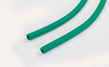 Жгут эластичный трубчатый спортивный (латекс, d-6 x 9мм, l-1000см, салатовый), фото 2