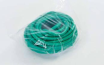 Жгут эластичный трубчатый спортивный (латекс, d-6 x 9мм, l-1000см, салатовый), фото 3