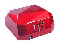 Лампа гибридная 36W (LED+CCFL) L-Hybrid-2 красная #B/E