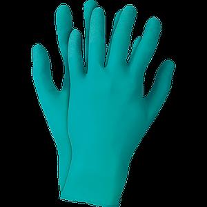 Защитные перчатки RATOUCHN92-500 Z из нитрила, бирюзового цвета. REIS