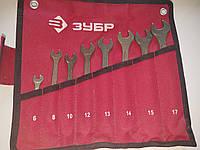 Набор комбинированных ключей 8 шт. ЗУБР 27025-Н8