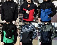 Мужская куртка/ветровка в стиле Nike Windrunner Jacket 6 цветов в наличии
