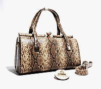 Женская сумка Вечерняя сумка на выпускной бал, с 3D эффектом змеи