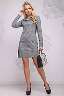 Стильном платье с принтом 2776 (42–50р) в расцветках, фото 1