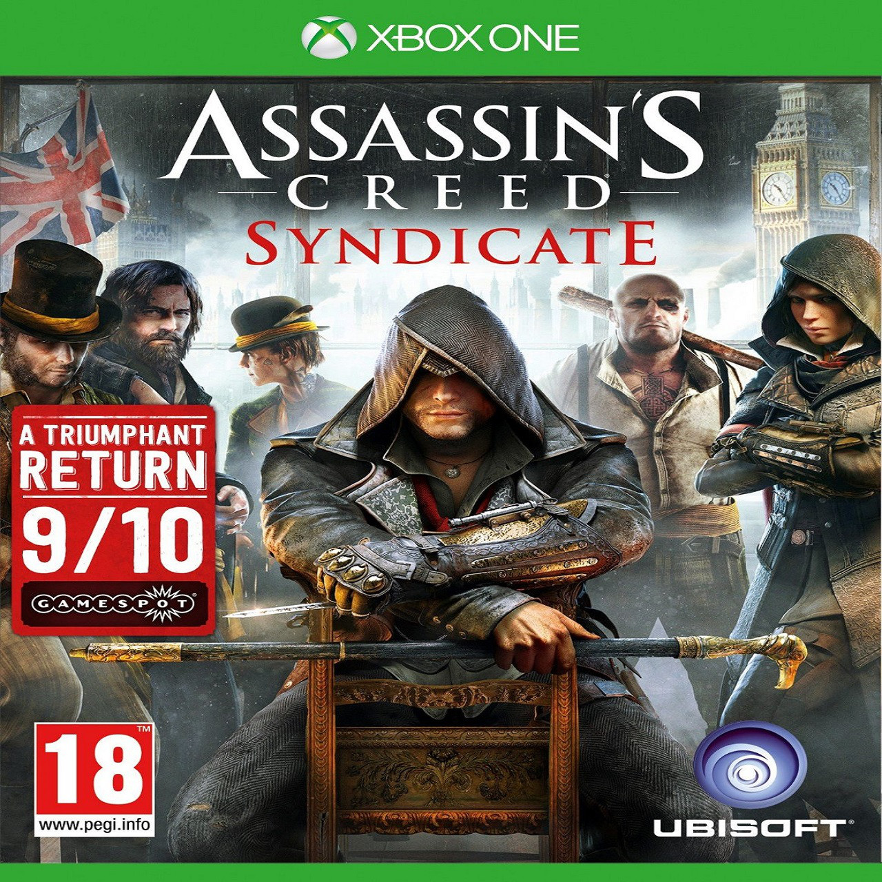 Assassin's Creed Syndicate RUS XBOX ONE (Б/В)