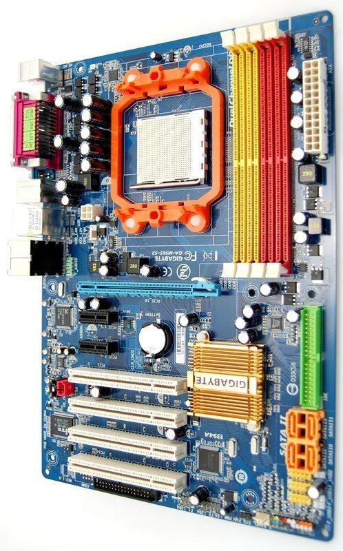 Плата под AMD SAM2 AM3 GIGABYTE GA-M56S-S3 Понимает ЛЮБЫЕ 2-4 ЯДРА ПРОЦЫ X2,X3,X4 до PHENOM II X4 955 sam3 am2