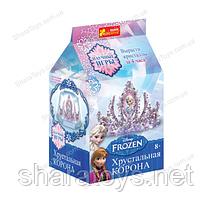 """Набор для опытов """"Корона в кристаллах Frozen"""""""