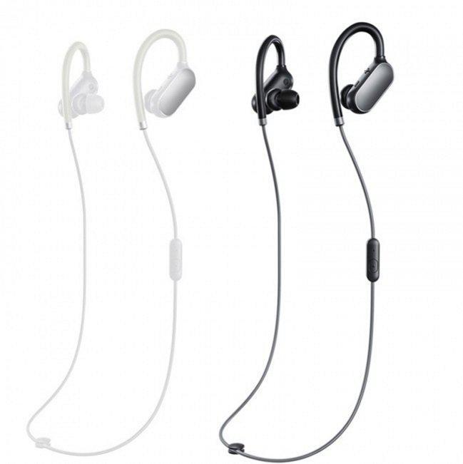 Наушники Xiaomi Mi Sport Bluetooth Earpods White / Black (ZBW4331CN/YD