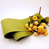 Фоамиран Китай оливковый, 1/2 м, толщина 1 мм, фото 1