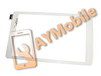 "Сенсор (тачскрин) 8"" Alcatel One Touch 8070 Pixi 45 pin 204x122 mm белый"