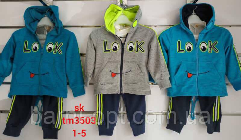 Спортивный костюм для мальчиков оптом, Setty Koop, 1-5 рр