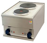 2-х конфорочная электрическая плита Kogast ES40 настольная