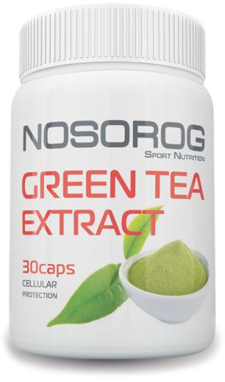 NOSOROG Green Tea Extract 30 caps (400 мг на капсулу; жиросжигатель; энергетик)