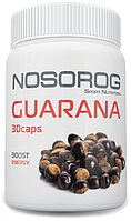 NOSOROG Guarana 30 caps (500 мг на капсулу; для бодрости; энергетик)