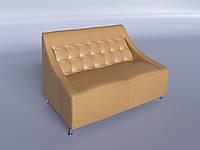 """Офисный диван """"Полис"""" бежевый"""