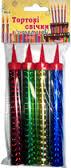 Пиротехнические тортовые свечи FS-4 (разноцветные)