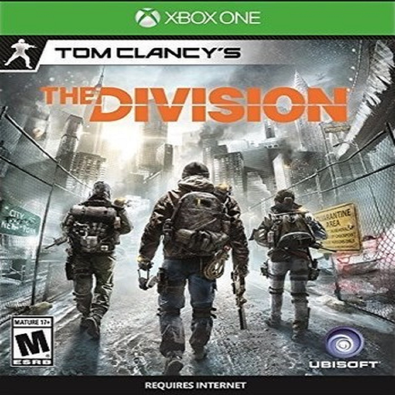 Tom Clancy's:The Division ENG XBOX ONE (Б/В)