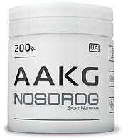 NOSOROG AAKG 200 г (читсый аргинин-альфа-кетоглюкорат, аакг, оксид азота, памп, для пампинга)