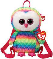 Рюкзак TY Gear Разноцветная сова Owen, для девочек, разноцветный (95003)