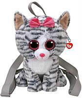 Рюкзак TY Gear Котенок Kiki, для девочек, серый (95000)