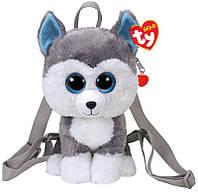 Рюкзак TY Gear Хаски Slush, для девочек, серый (95007)