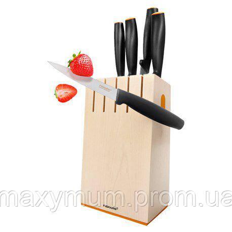 Блок с функциональными ножами 6 элементов Functional Form Fiskars
