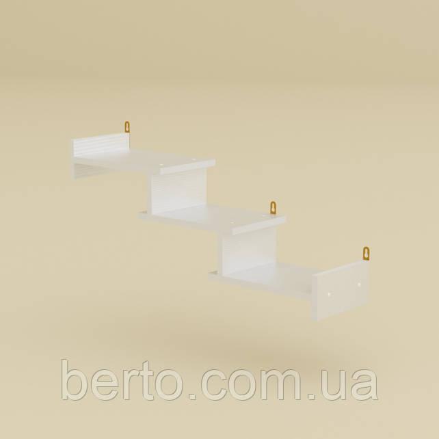 Полка навесная П-14 Белая