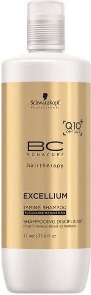 Шампунь смягчяющий Schwarzkopf BC Bonacure Excellium Taming Q10 Shampoo 1000 мл