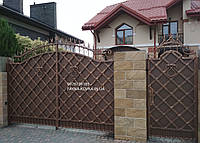 Кованые ворота / Ковані ворота (243), фото 1