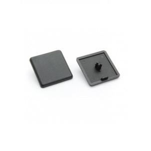 Заглушка торцева 30х30, чорний пластик