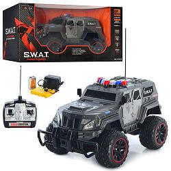 """Машинка військовий W 3828 джип """"S. W. A. T"""" на радіоуправління, гумові колеса"""