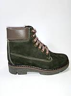 Зимние женские ботинки на шнурках ТМ Santini