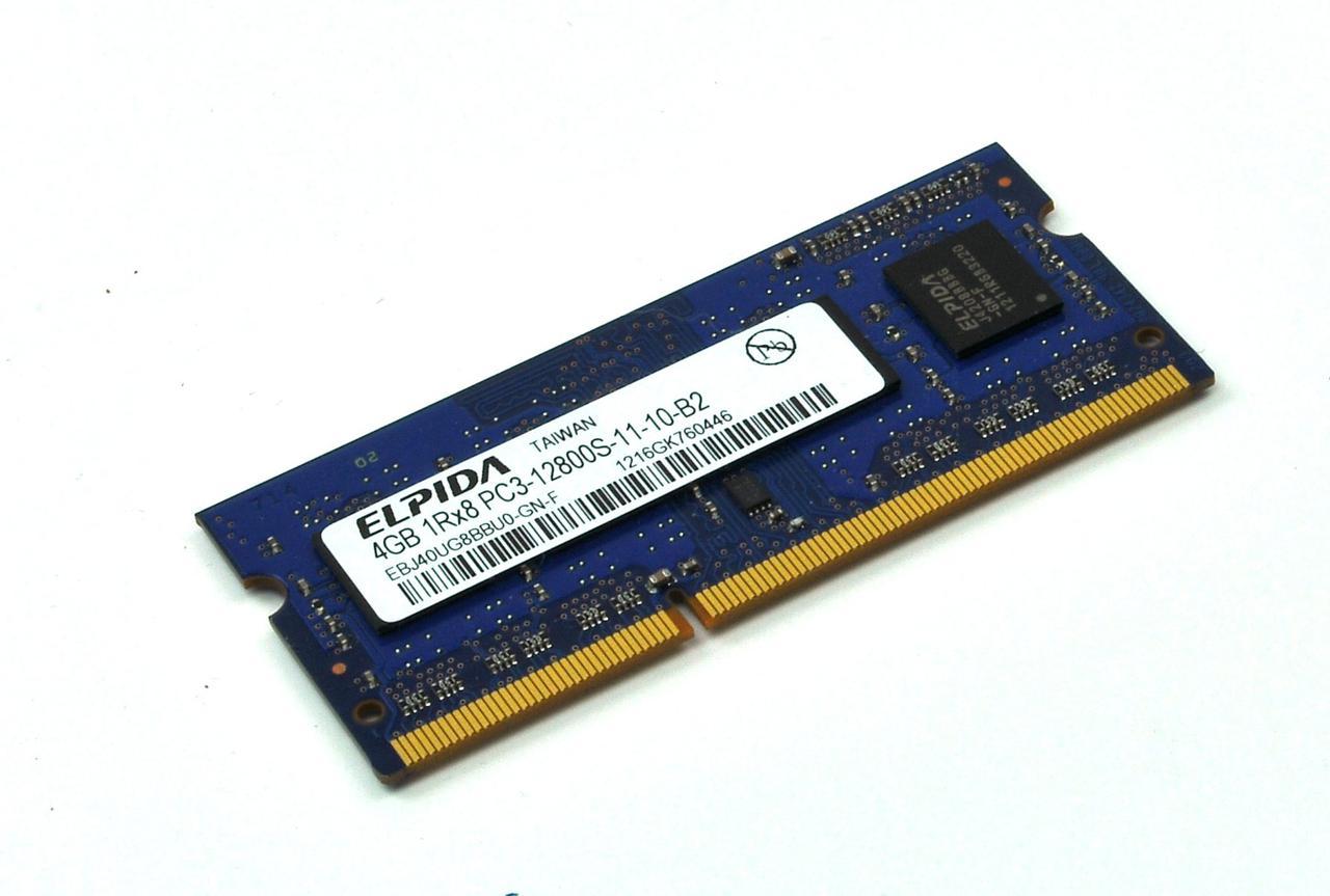 Оперативная память Elpida SODIMM 4Gb DDR3 1600MHz (EBJ40UG8BBU0-GN-F) Б/У