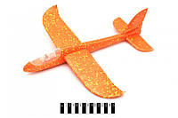 Планер большой метательный с подсветкой, самолет летающий, камикадзе светится, фото 1