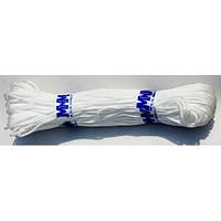 Веревка бельевая 4 мм 100 м белая