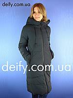 Пуховик пальто женское Towmy 3916 (S-2XL) пуховики парки куртки Towmy 3839206de992a