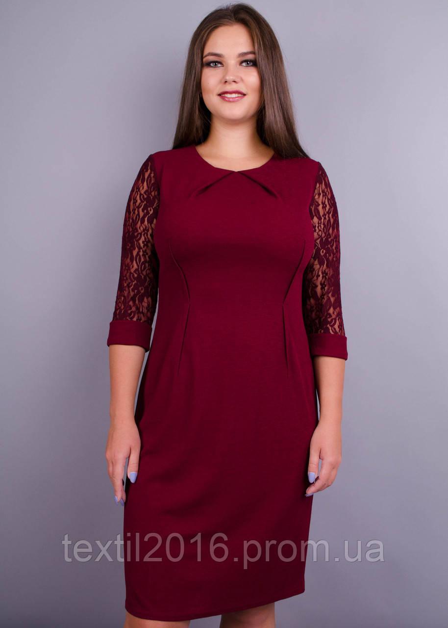 Платье Ля Руж бордо