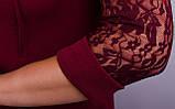 Платье Ля Руж бордо , фото 7