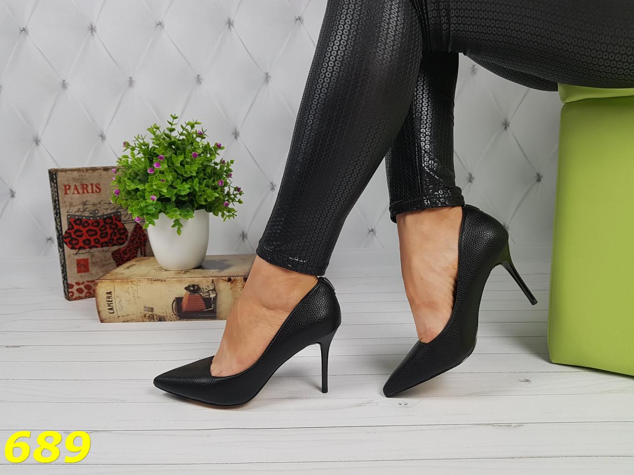 5c4df9019 23 см Туфли женские черные на шпильке, на невысоком каблуке, небольшом  каблуке, лодочки