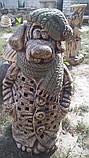 Фигура для сада Собака  в пальто, фото 3