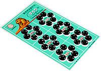 Кнопки для одежды пришивные (10мм/36шт) черные