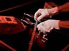 Усиленные вязаные перчатки с точечным виниловым покрытием Wurth, фото 2