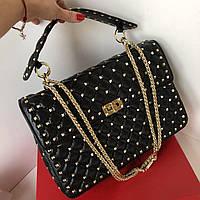 Женская сумочка Valentino Garavani Rockstud 30 см (реплика), фото 1